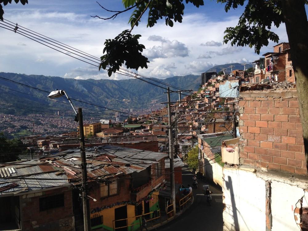 Medellín. © Bertrand Verfaillie