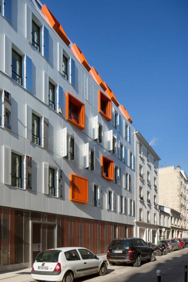 Premier immeuble de logement sociaux à énergie positive à Paris @ Paris | Île-de-France | France
